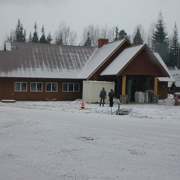 Priest State Park Headquarters