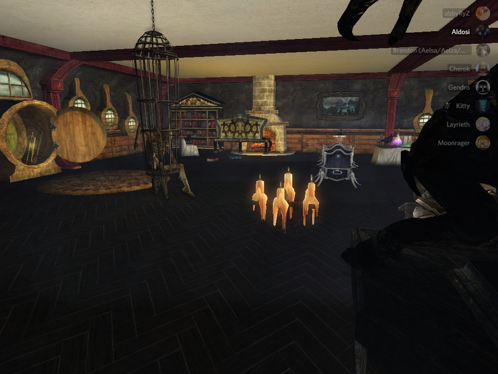 Gendro's haunted house