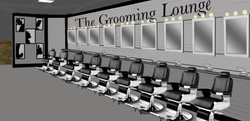 Grooming Lounge (interior)