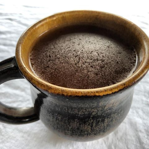 Hot and warm and yummy, Hawaiian cacao.