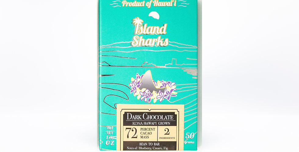72% Kona Grown Dark Chocolate