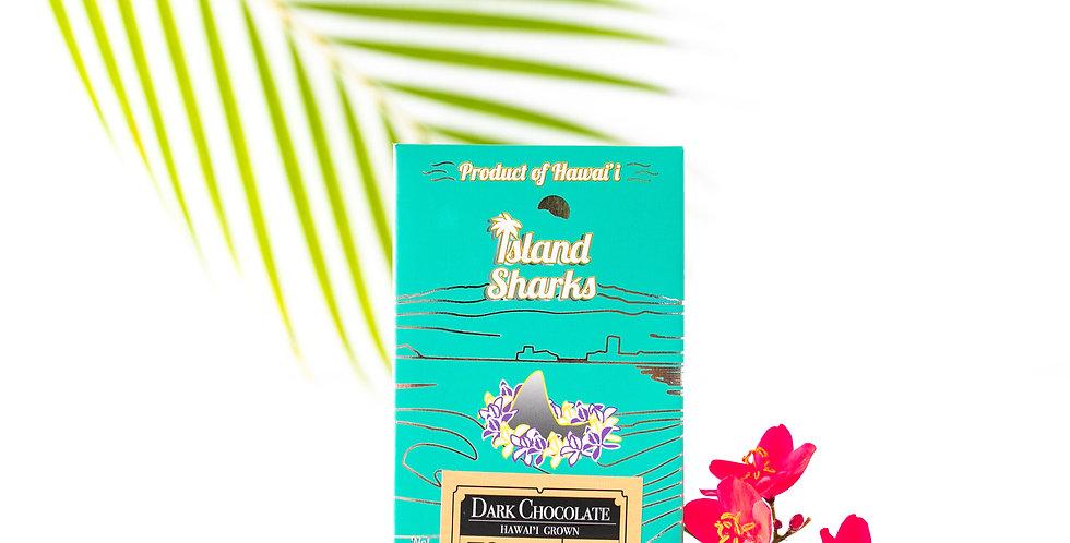 72% Hawai'i Grown Cacao Dark Chocolate