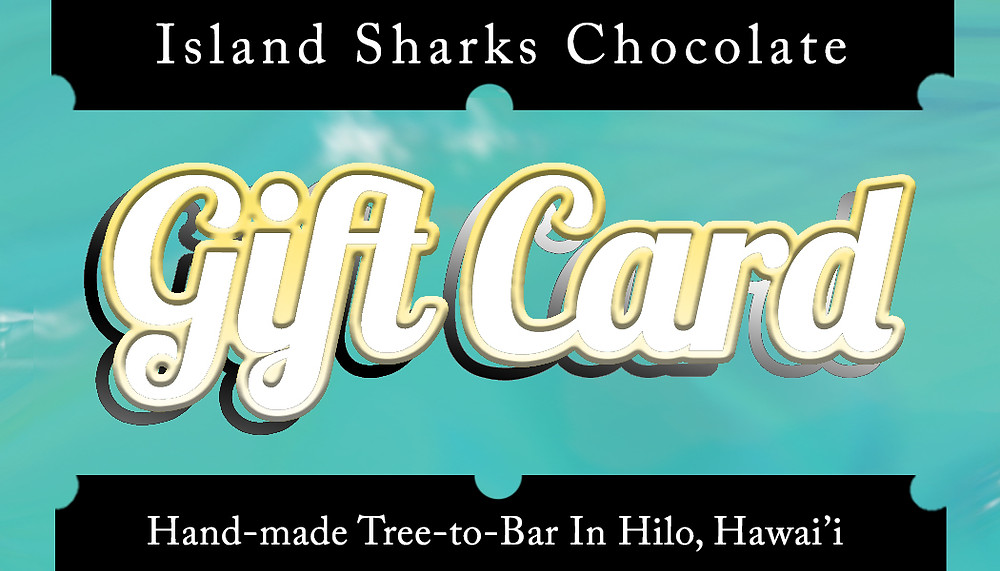We know have Island Sharks Gift Cards!