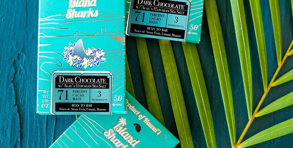 Hawaiian Sea Salt Dark Chocolate