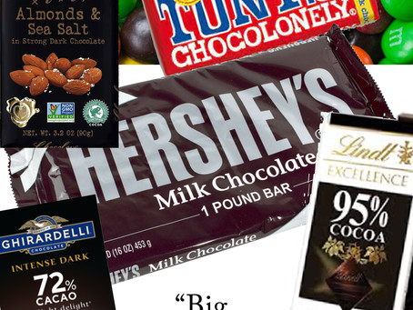 """What is """"Big Chocolate""""? AKA the world's favorite candy bar and treats."""