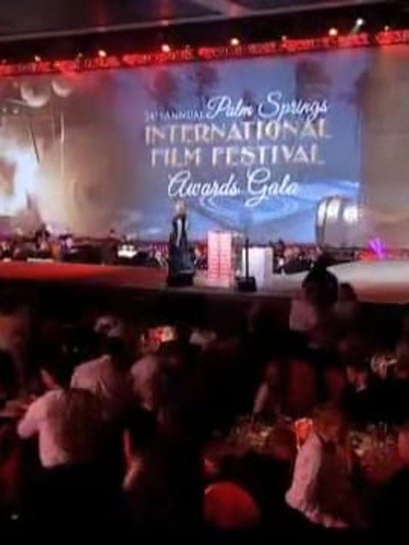 Palm Springs International Film Festival Stage Graphics