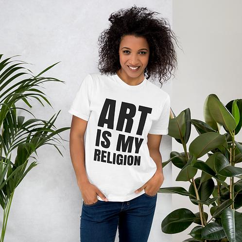 ART IS MY RELIGION - Tee (Camiseta)