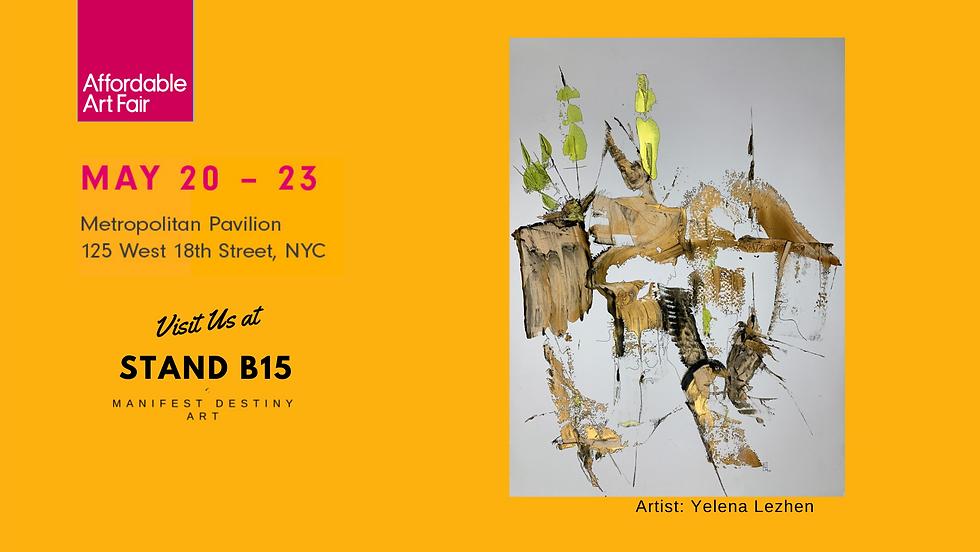 Manifest Destiny Art at  AAF NYC 2021.pn
