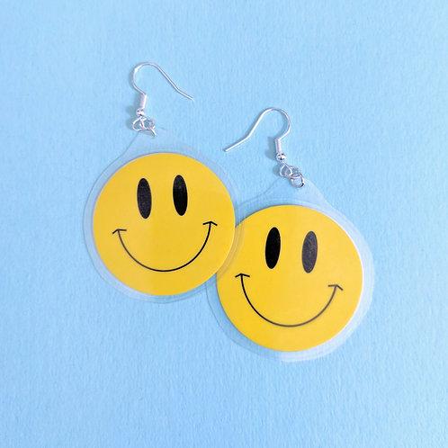 Double Smiley Earrings