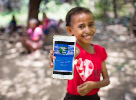 Learning Passport in Timor-Leste Recognized as platform with highest number of users