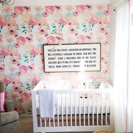 Blush Baby florals