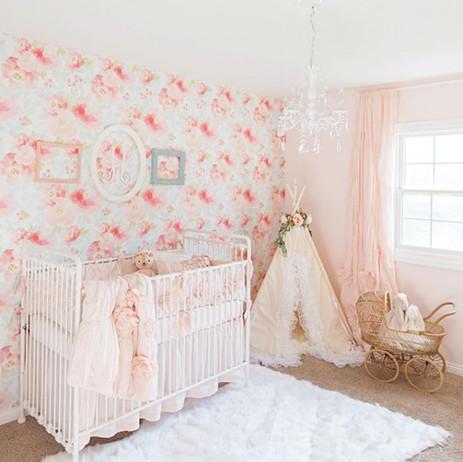 pink plush flroals