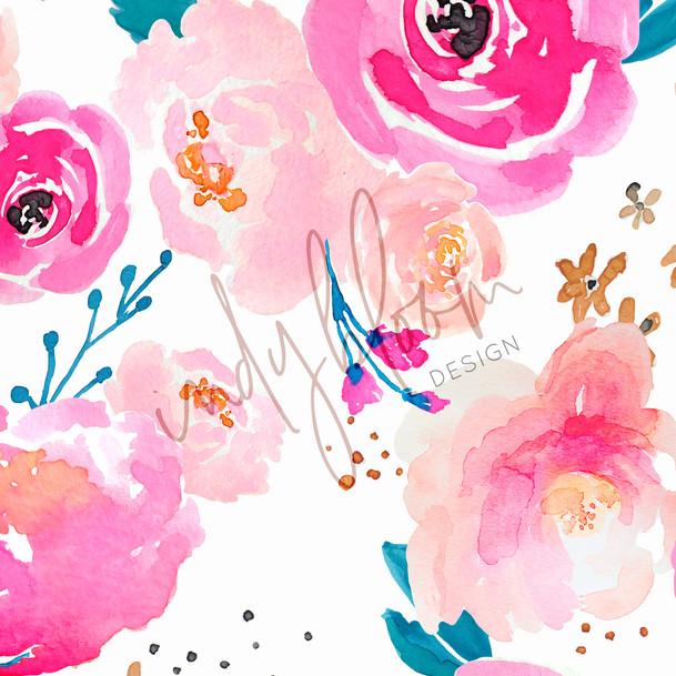 Punchy florals