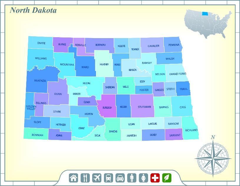 North Dakota, The Peace Garden State
