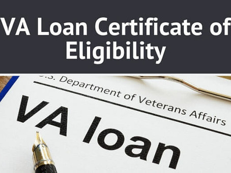 VA Certificate of Eligibility (COE)