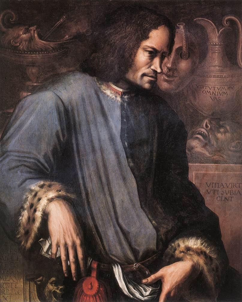 Lorenzo il Magnifico. By Giorgio Vasari, 1534