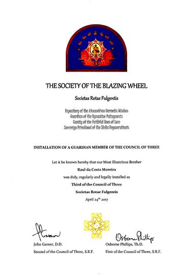 Scan do Certificado de Instalação
