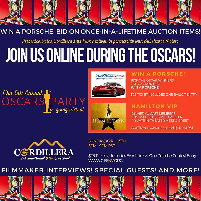 Cordillera presents: A VIRTUAL Evening at the Oscars