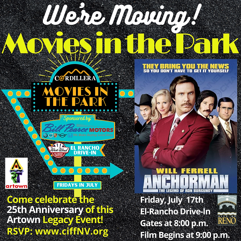 Movies in the Park:  ANCHORMAN