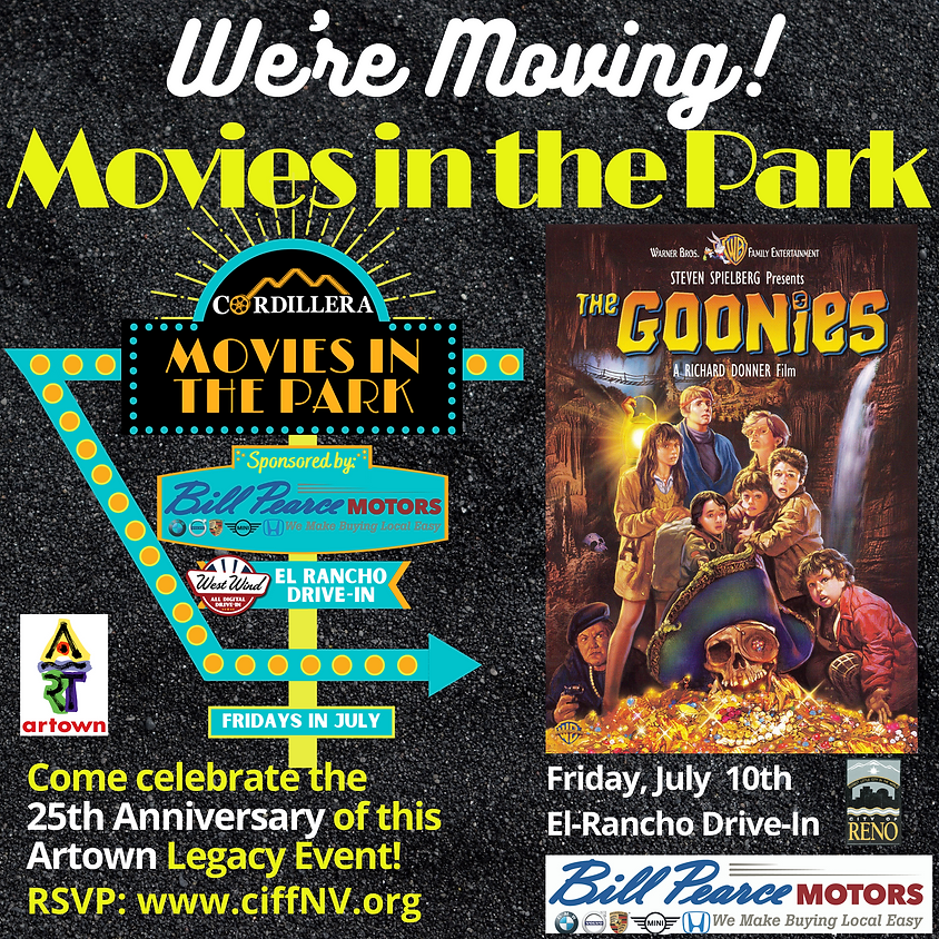 Movies in the Park:  THE GOONIES