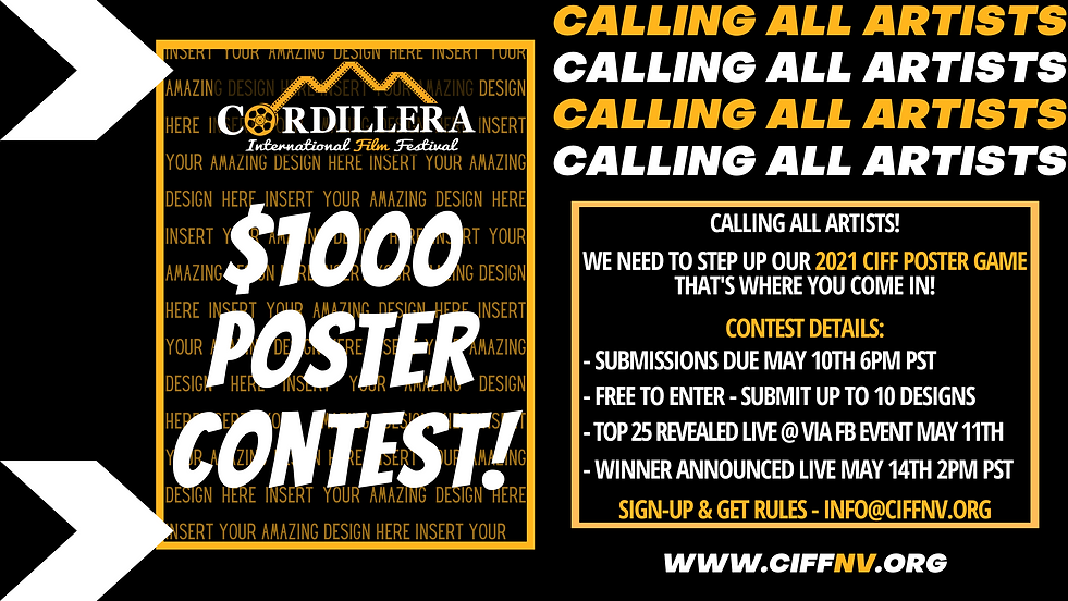 CIFF 2021 POSTER CONTEST - FB EVENT COVE