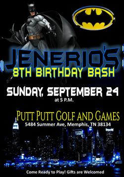Jenerio Birthday Invite PNG