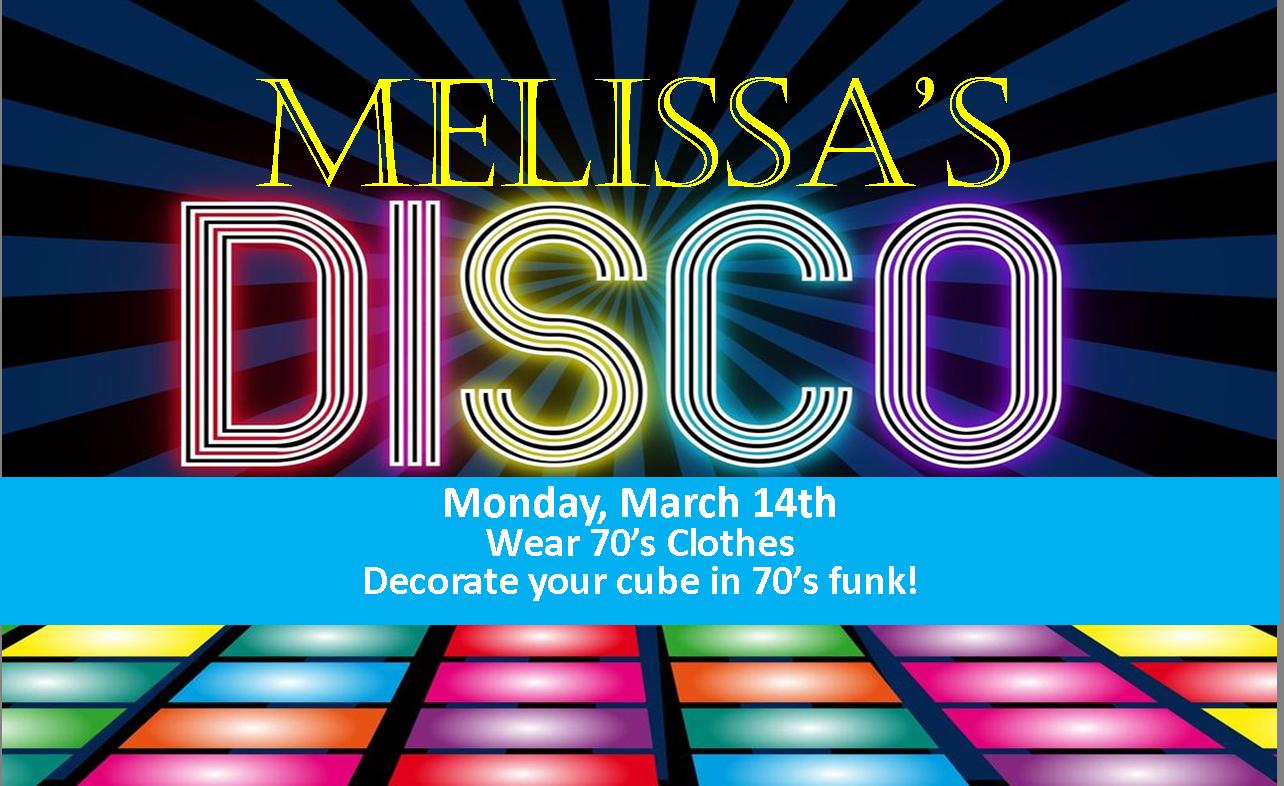 Melissa's disco