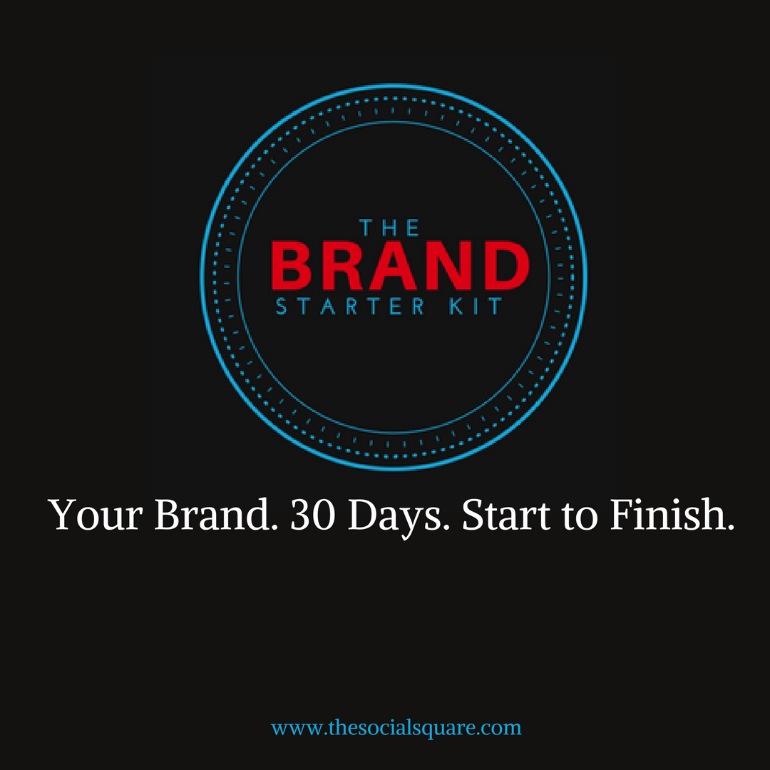 Your Brand. 30 Days. Start to Finish.