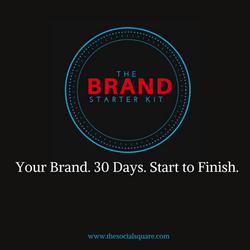 Your Brand. 30 Days. Start to Finish.
