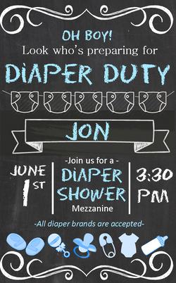 Jon baby shower