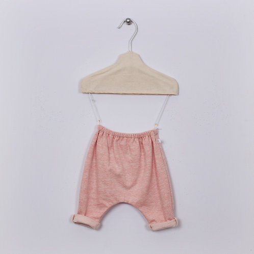 Pantalon Patapon Molleton #Rose