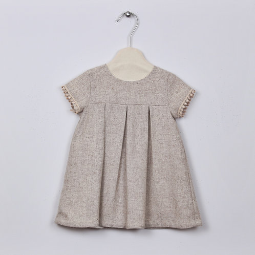 Robe Rose - Taupe