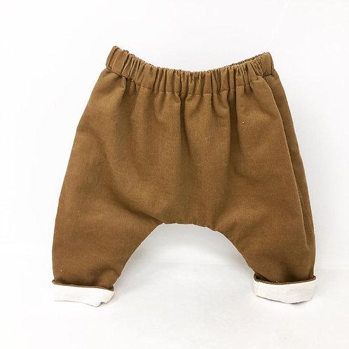 Pantalon Popoche - Velours Camel