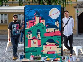 Saimaa-ilmiö ❤ Trenčín / Artists Filip Ovádek a Kaisa
