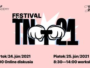 Máš od 14 do 20 rokov? Prihlás sa na festival TNT 21 - Tvoje nápady pre Trenčín!