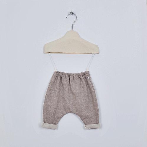 Pantalon Patapon Molleton #Taupe