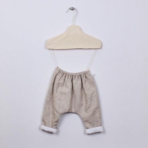 Pantalon Patapon Lainage - Taupe