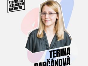 Get to know Europe through the eyes of Terina Barčáková