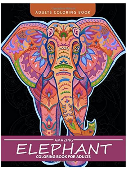 Elephant Colouring Book