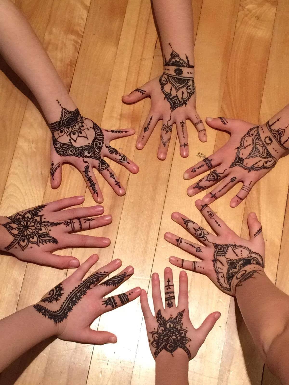 Henna @ birthday party