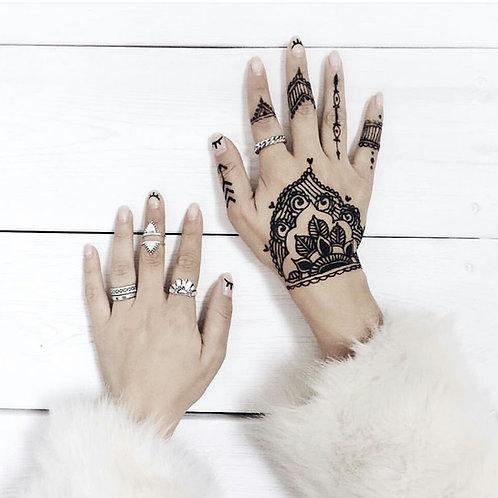 Encre diamant noir ∆ Black Diamond Ink