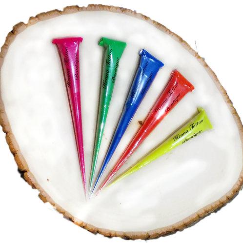Encre colorée ∆ Glow pen & ink