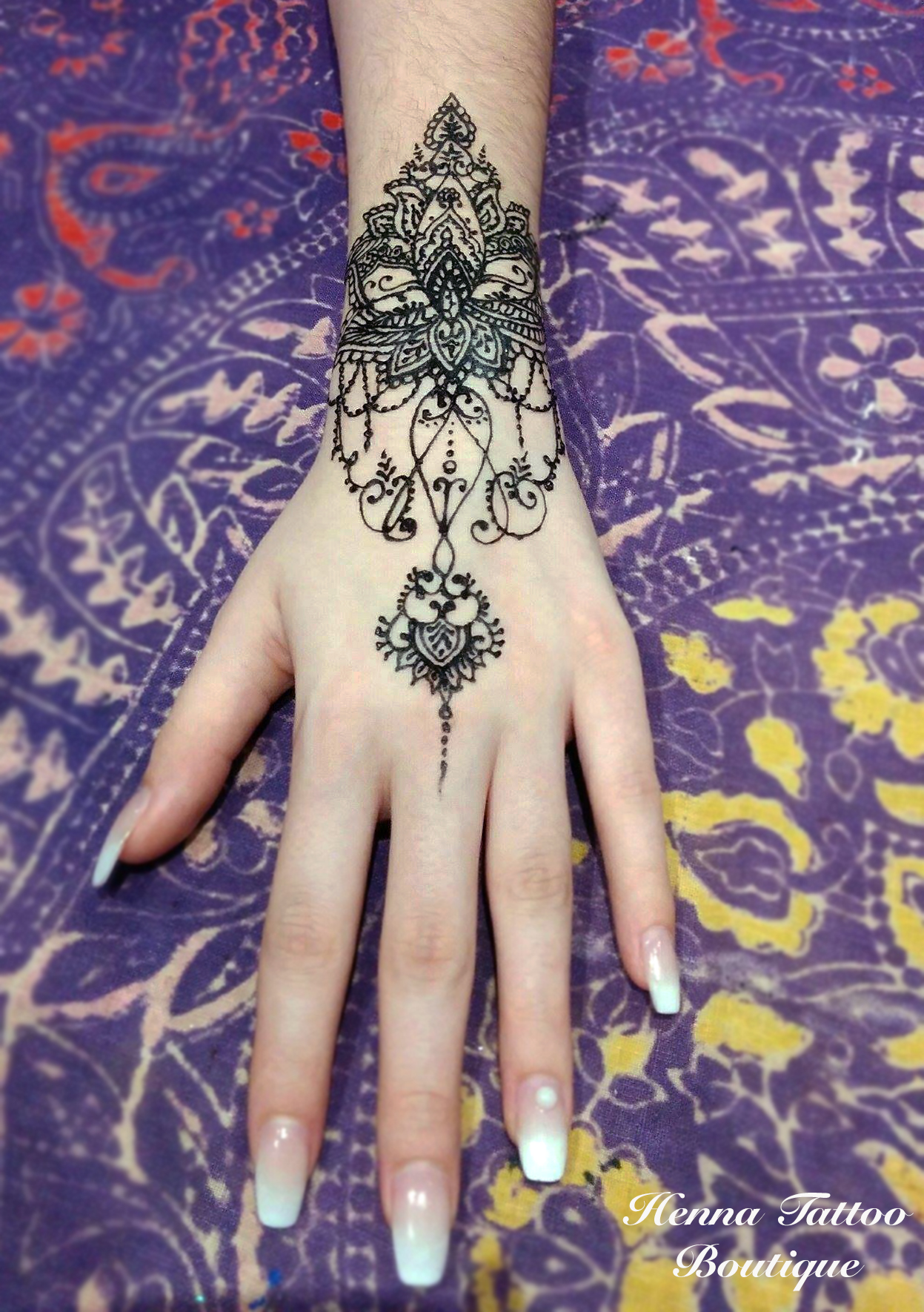 henna pic video