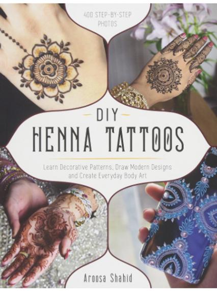 DIY Henna Tattoos designs Book