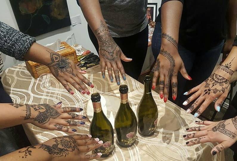 Bachelorette Party Henna