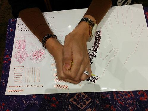 Cours de henné en ligne- débutant