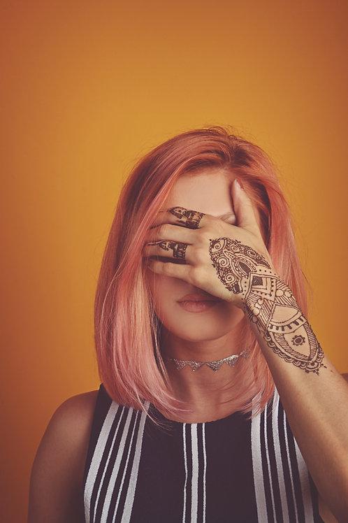 Encre henné ∆ Henna ink