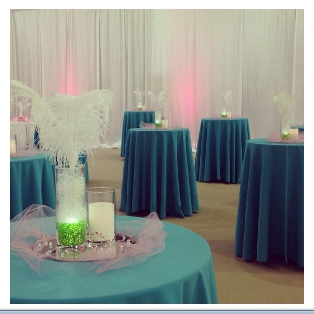 Just a sneak at what my event looked like this weekend! (With the lights on)  #thinklovesmart photoc
