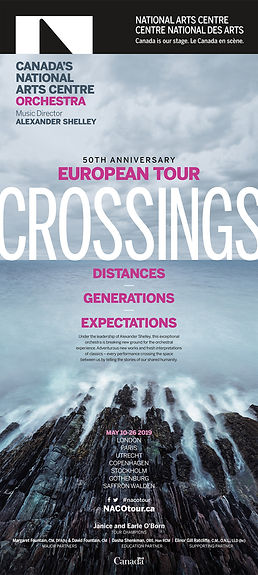 NACO Europe Tour Ad