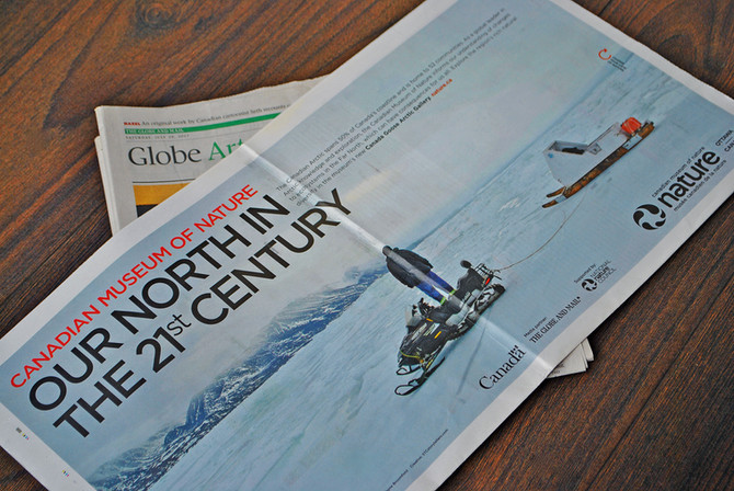The Globe and Mail, CMN Arctic Ad